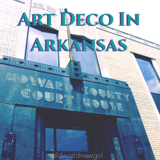 Art Deco in Arkansas