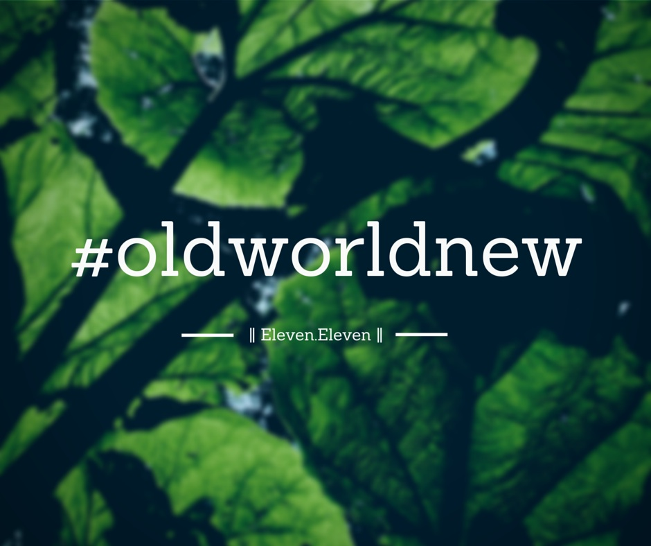 Old World New | 11.11 | Blog Relaunch