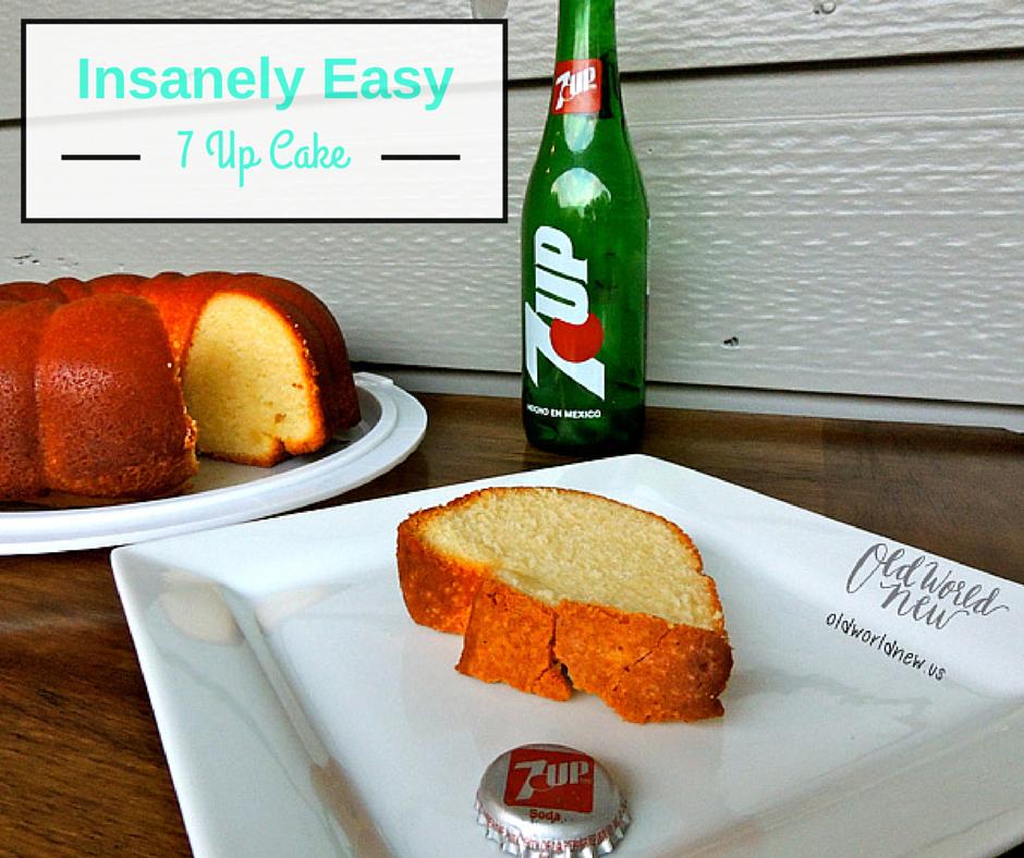 Insanely Easy 7 up cake fcbk