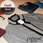 Thrift Haul January 2015
