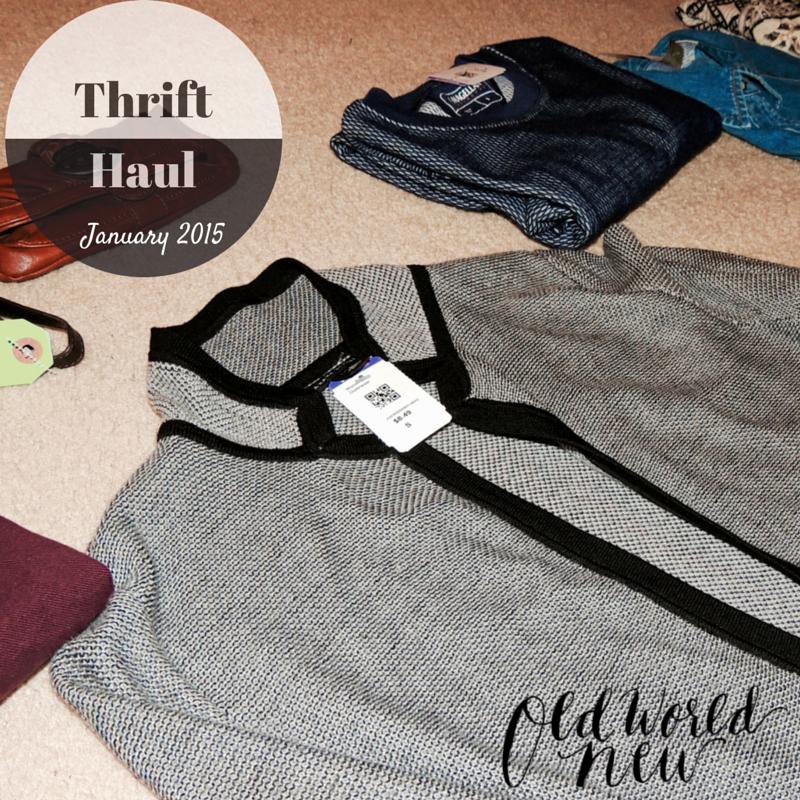 January 2015 Thrift Haul