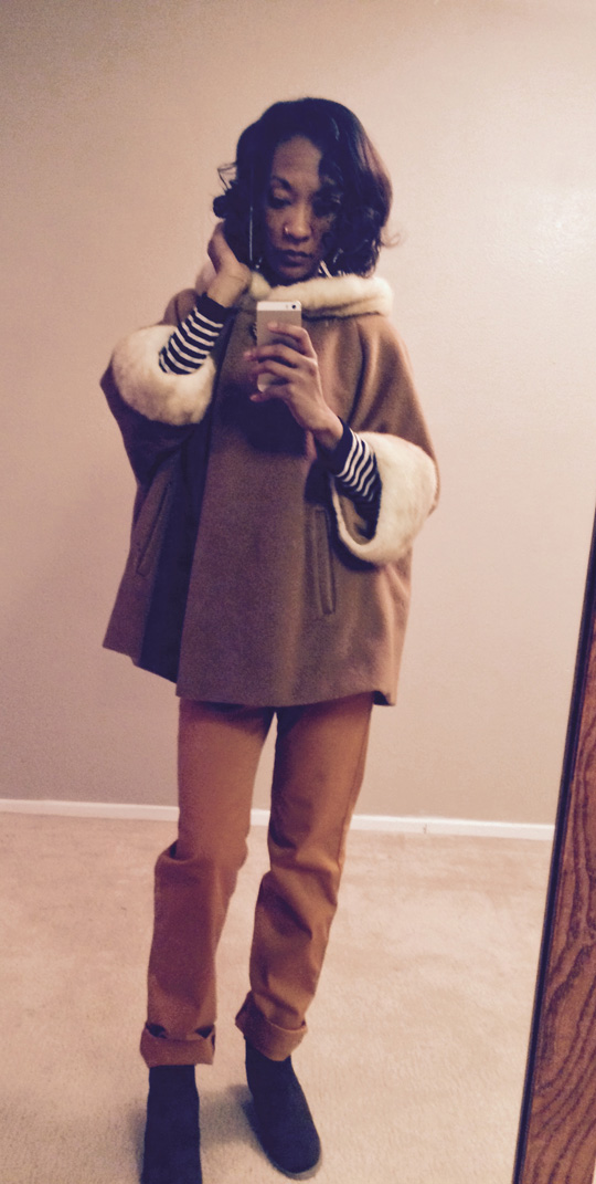 Vintage Cape & eco-friendly Monkee Genes pants