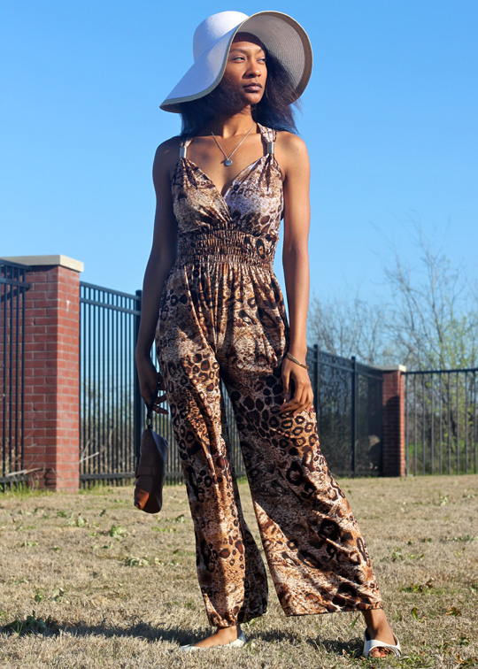DIY: How To Turn a Maxi Dress into a Jumpsuit