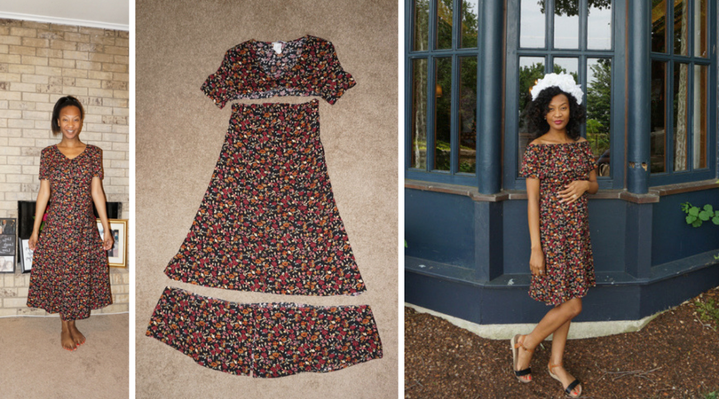 upcycle dress diy instructions from start to end photos