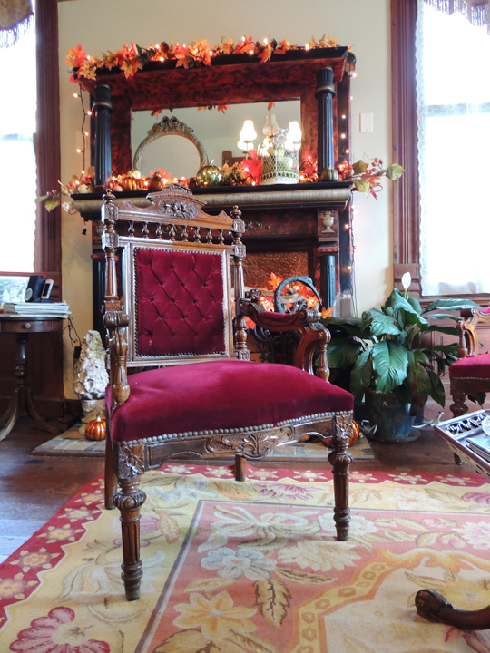 beautiful vintage chair coppersmith inn