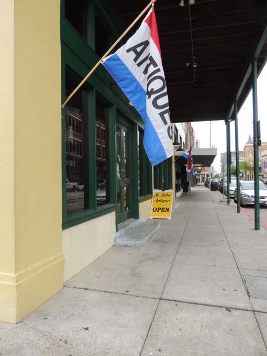 galveston antique store