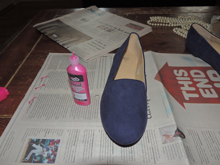 Old World New | DIY Catch Phrase Shoe 2