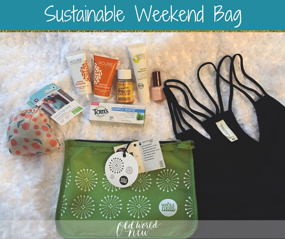 Sustainable Weekend Bag