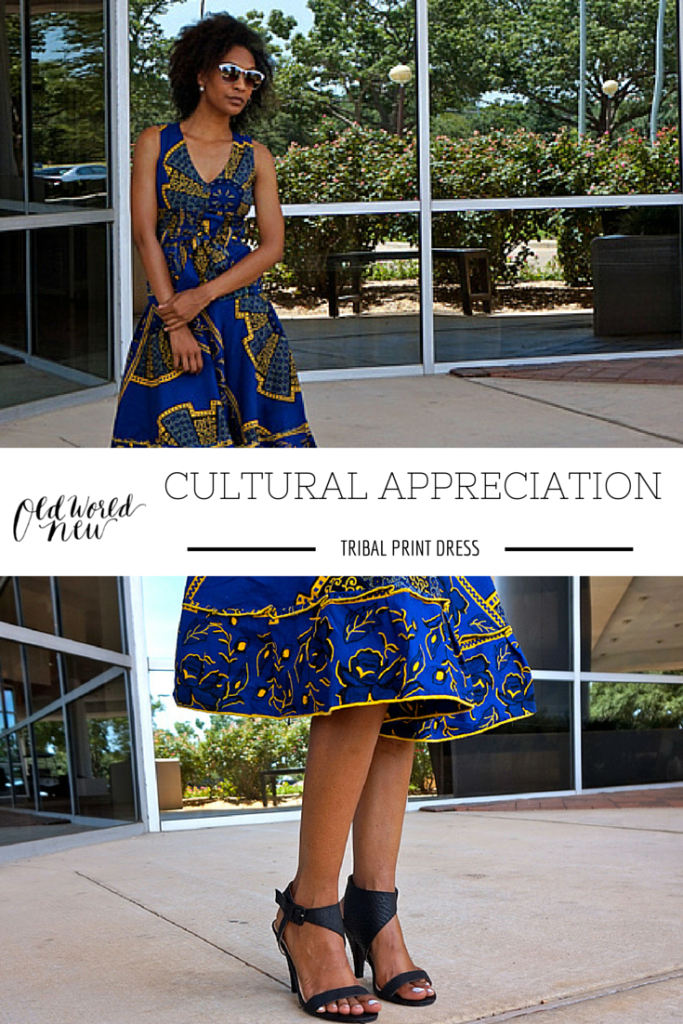 Old World New | Cultural Appreciation: Tribal Print Dress