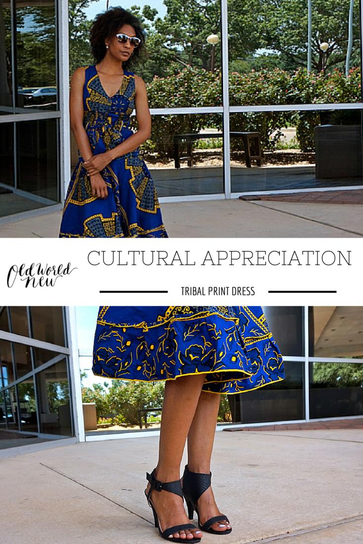 Cultural Appreciation: Tribal Print Dress