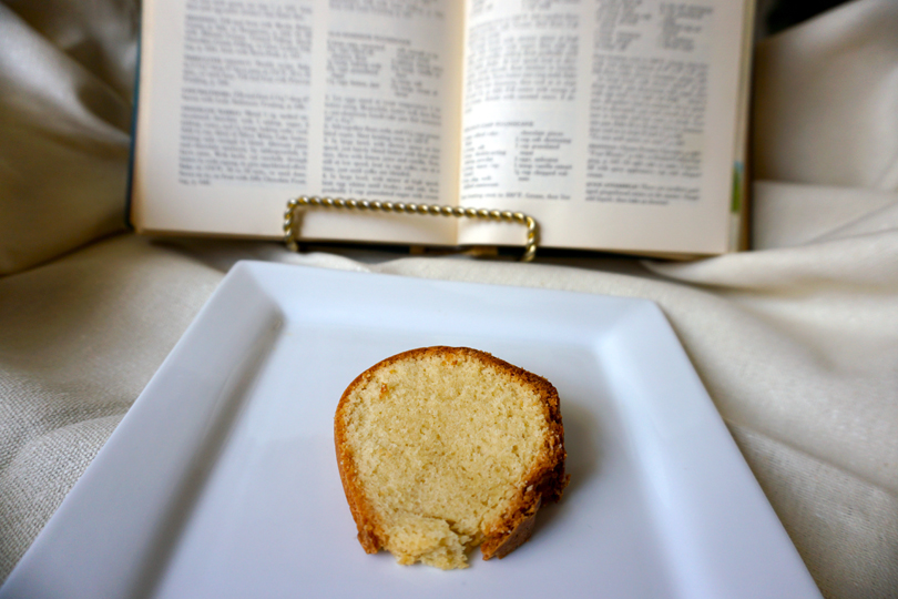 Authentic Pound Cake Recipe - via Old World New