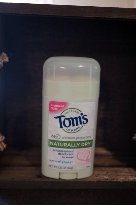 Toms deodorant