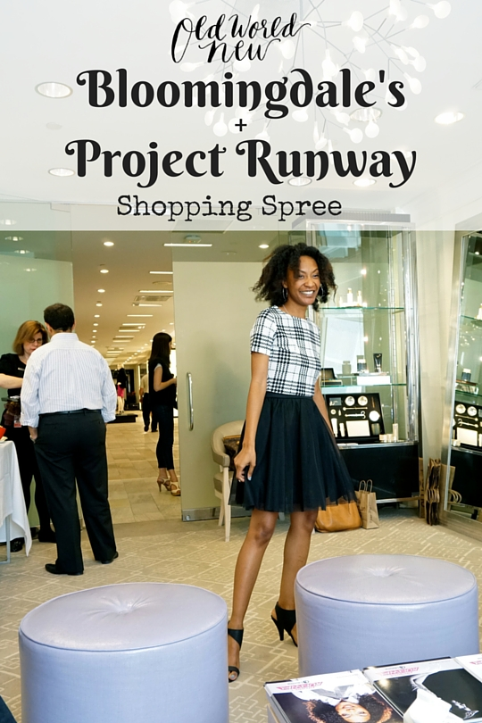 NYFW – Bloomingdale's + Project Runway Shopping Spree