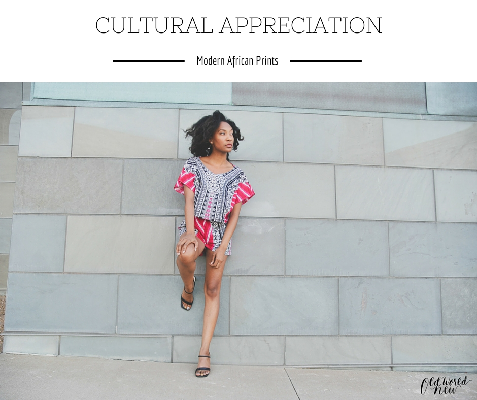 Modern African Style by Alero Jasmine via Old World New: Cultural Appreciation Style Series