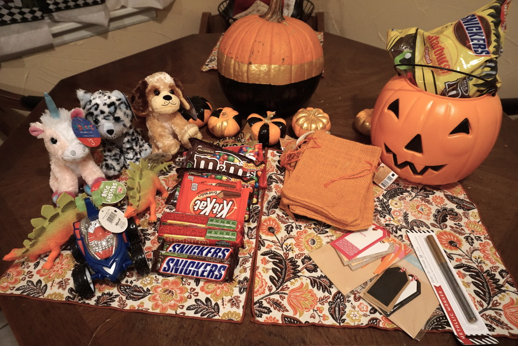 Best Costume Gift DIY made entirely from products found in the Target Dollar Spot bin! via Old World New