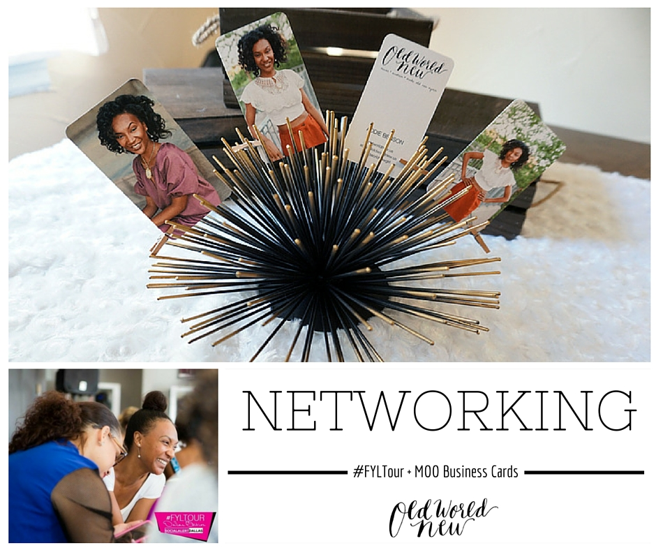 Old World New - Networking + MOO Business cards