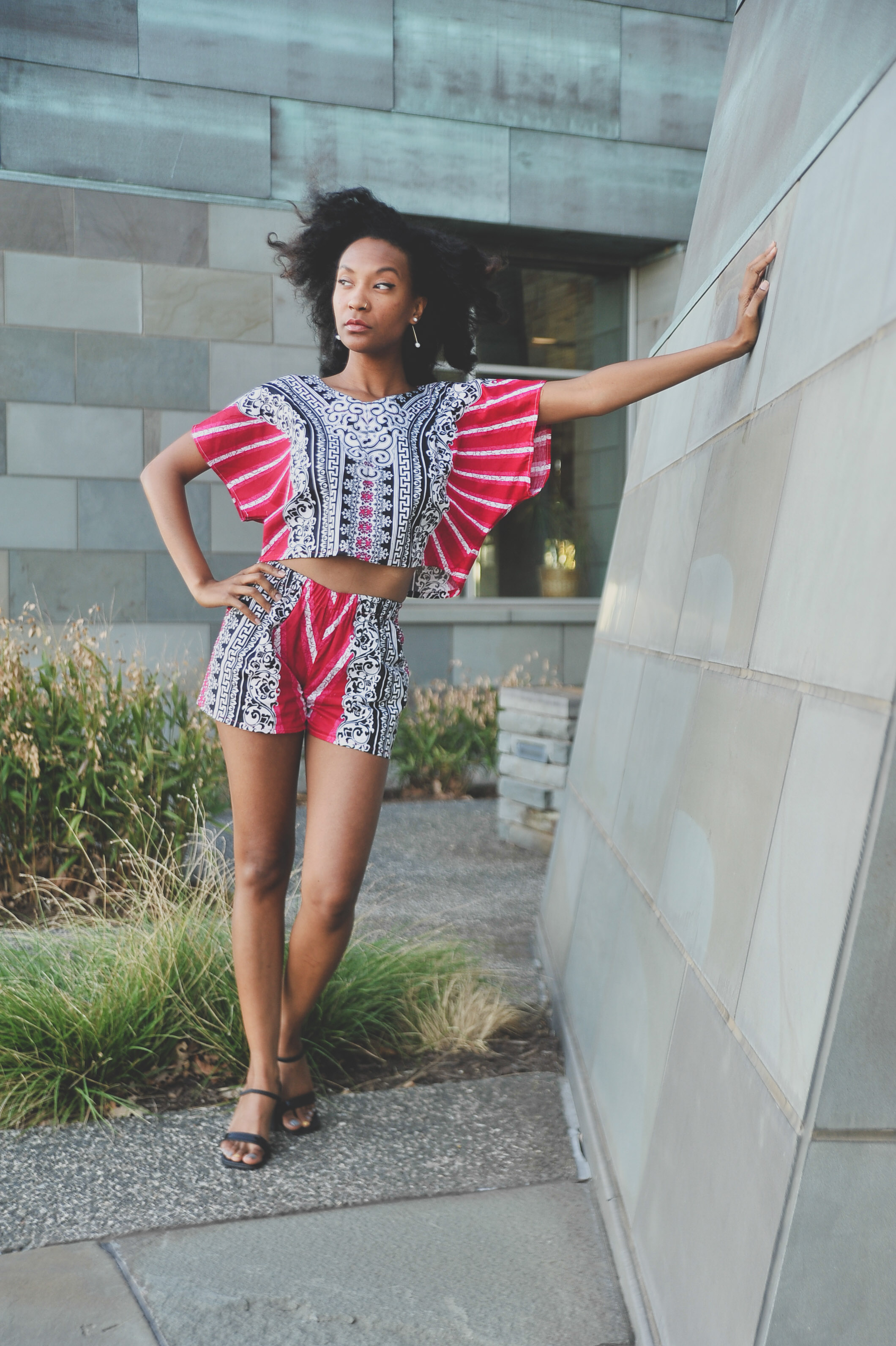 Alero Jasmine short set styled by Old World New - Cultural Appreciation