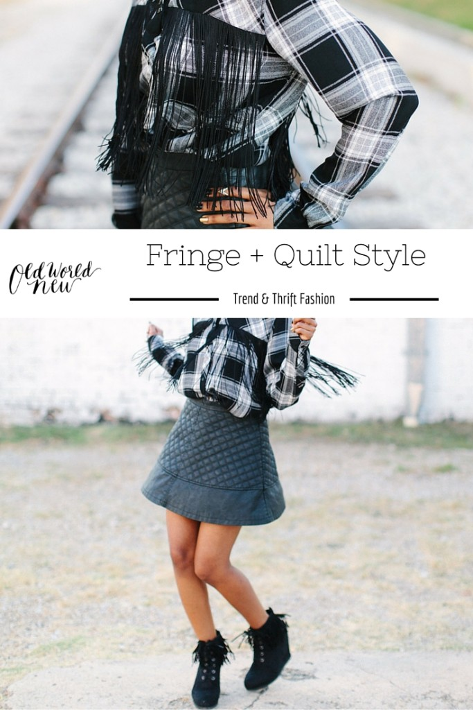 Fringe + Quilt Fashion via Old World New