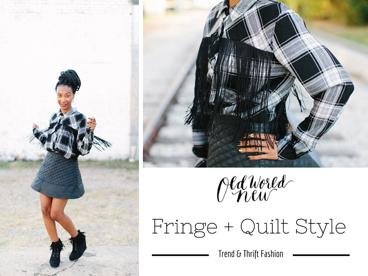 Fringe + Quilted style via Old World New