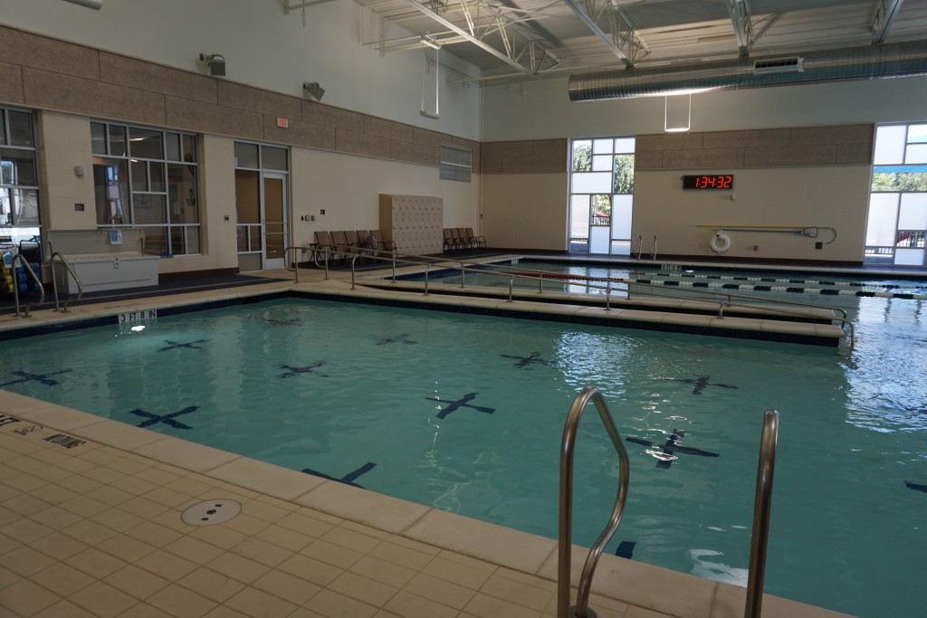 Winter Pool Party at the Farmers Branch Aquatic Center via Old World New