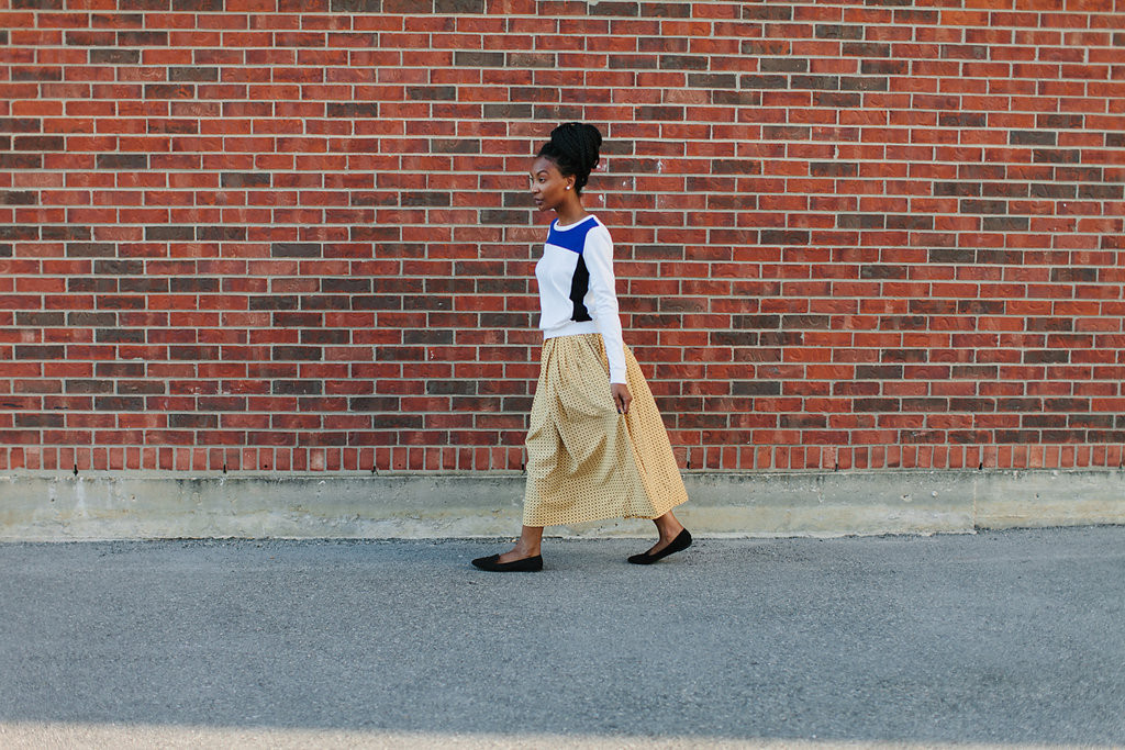 Ralph Lauren Vintage Skirt and New Sweater via Old World New