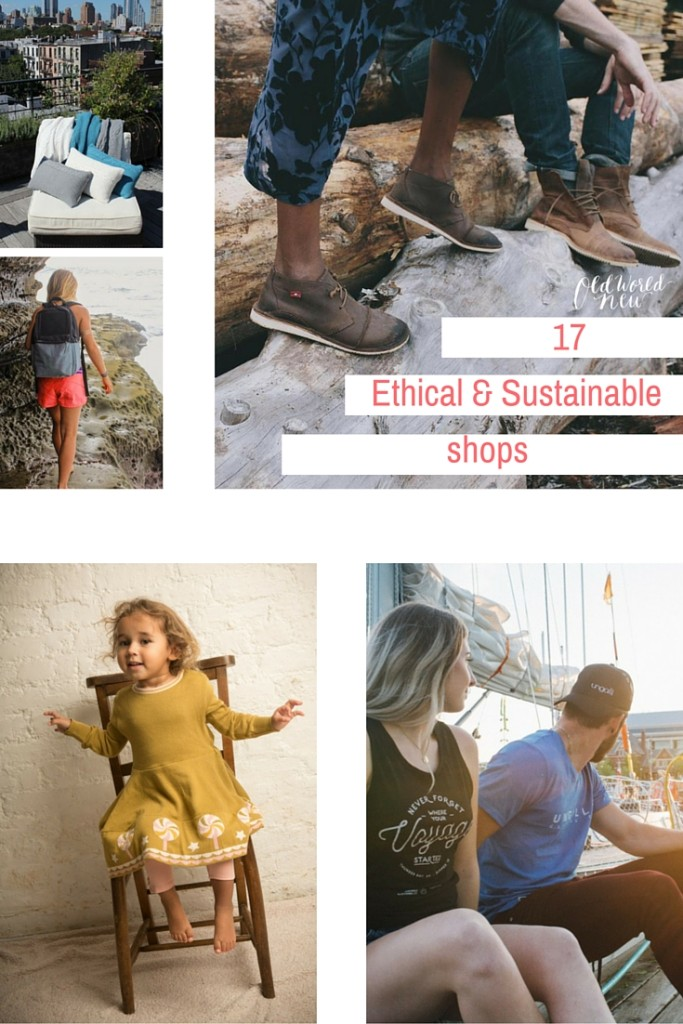 17 Ethical & Sustainable Shop Guide via Old World New