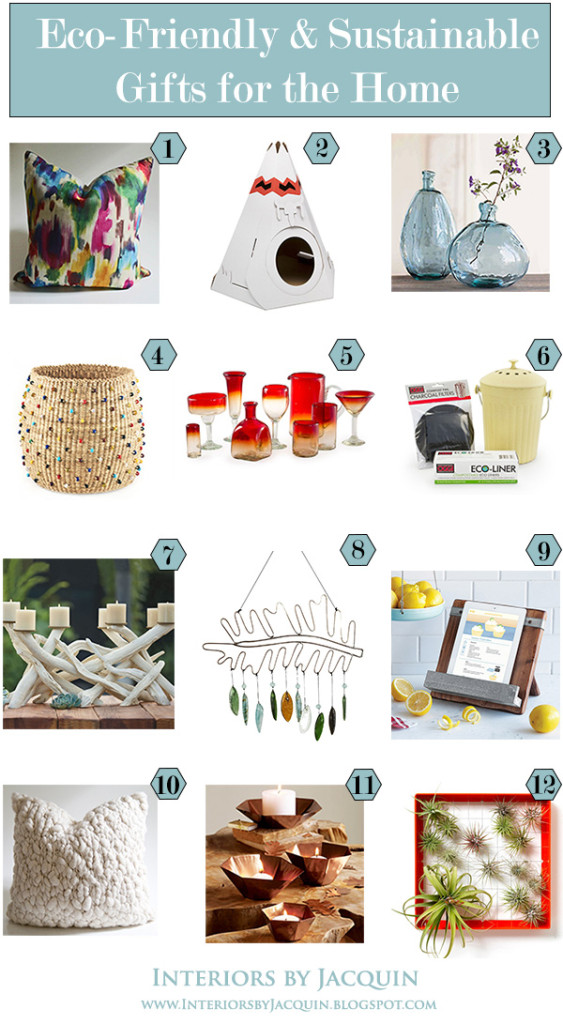 Eco Friendly Sustainable GIFTS for home jpeg