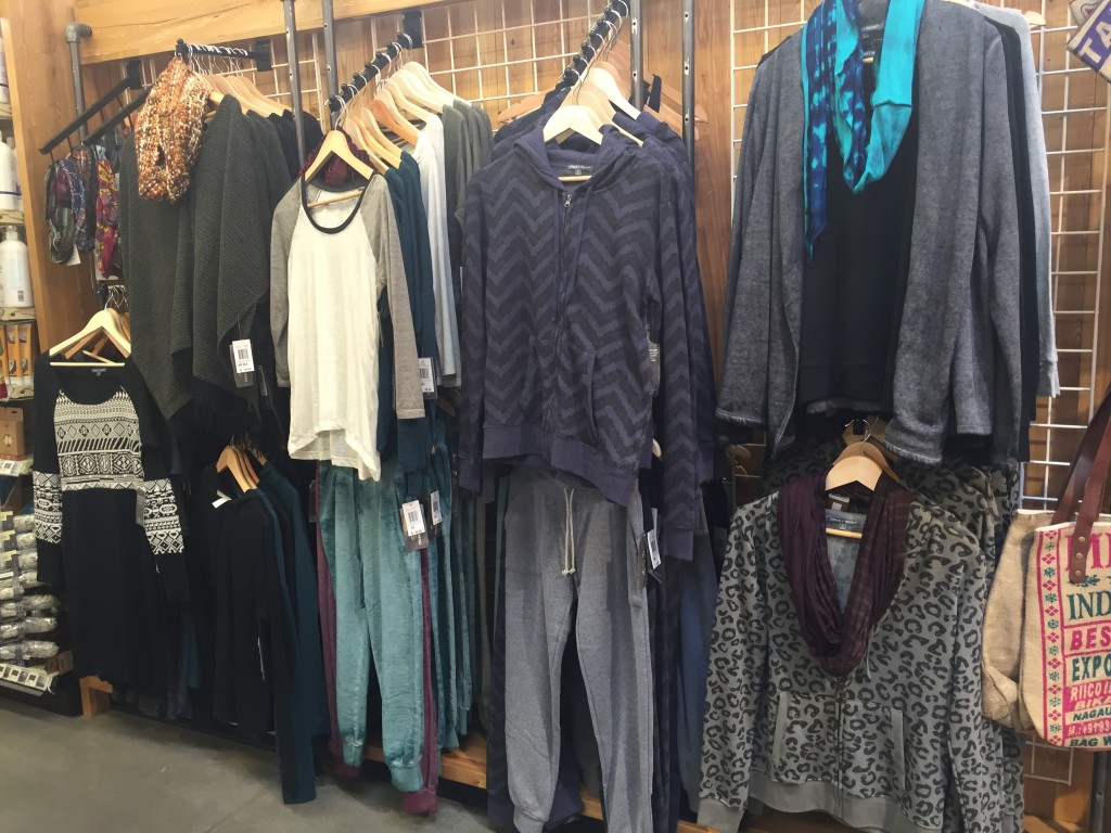 Threads for Thought Clothes at Whole Foods Market via Old World New