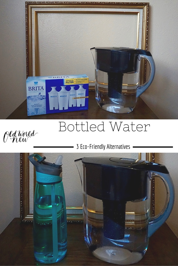 bottled water | 3 eco-friendly alternatives - pin
