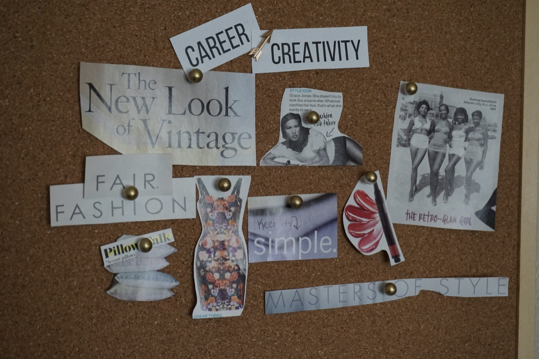 vision board career via Old World New