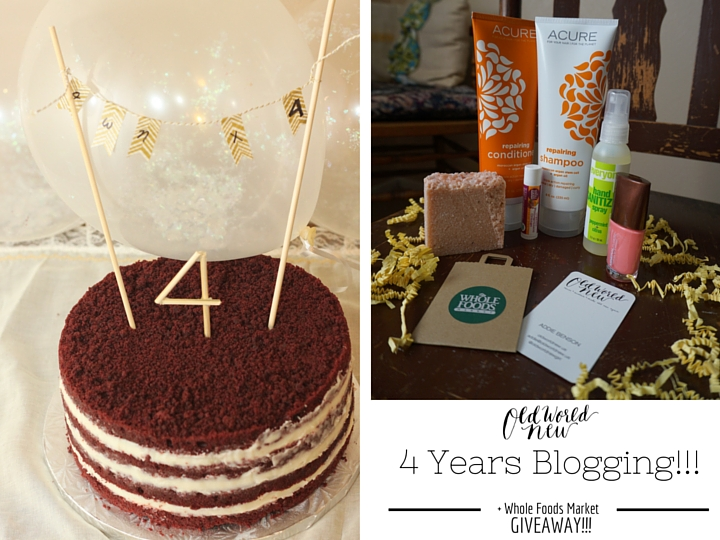 4 Years Blogging + Giveaway - prize image