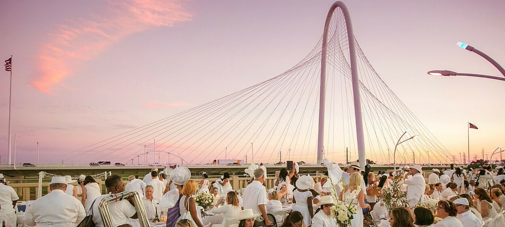 Diner en Blanc Dallas 2016 is Inherently Sustainable (& Just Plain Amazing!)