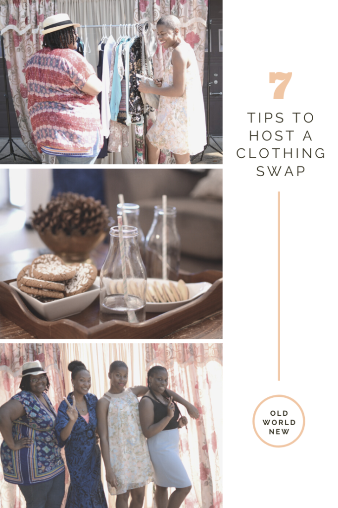 7 tips to host a clothing swap