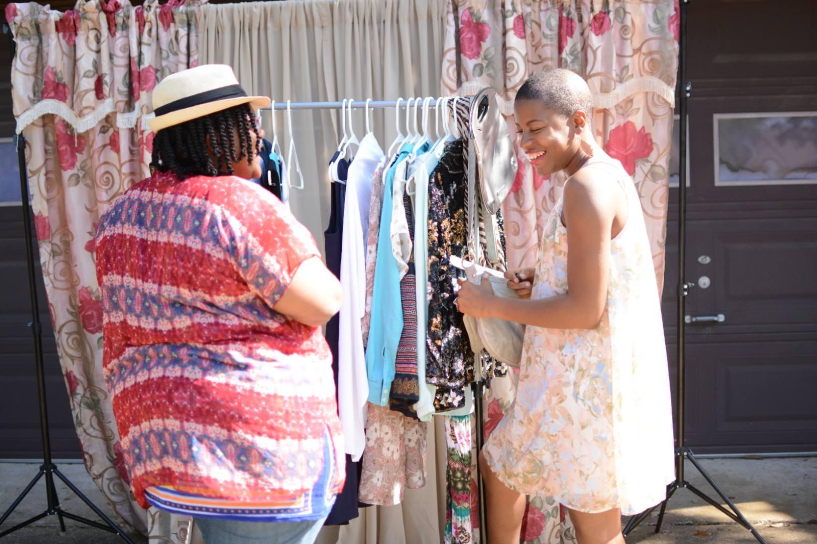 Old World New - clothing swap