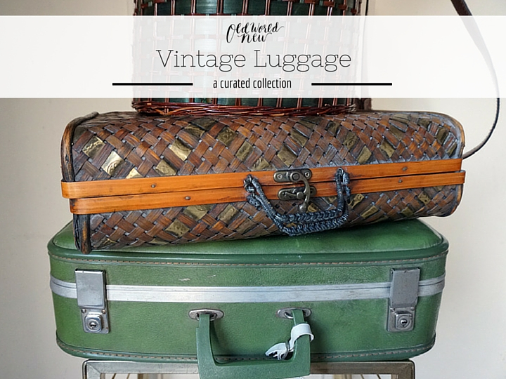 Vintage Luggage Collection - Old World New