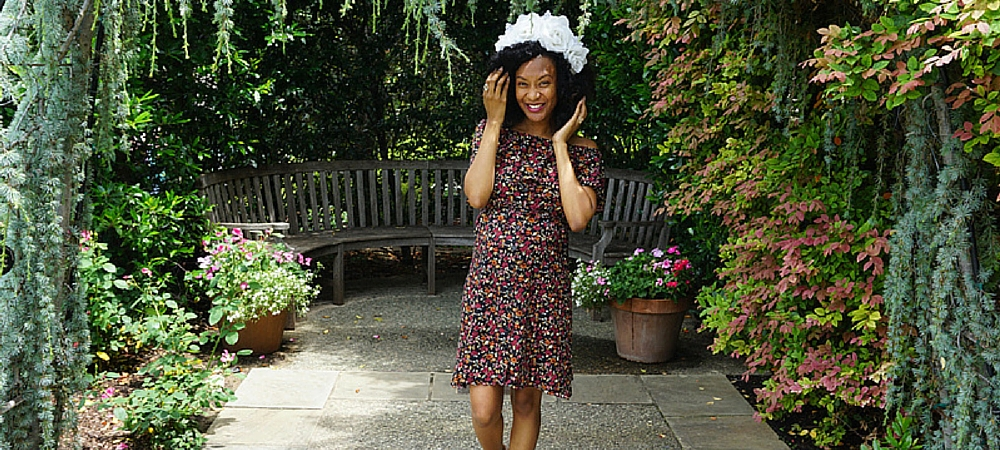 floral dress upcycle diy Old World New