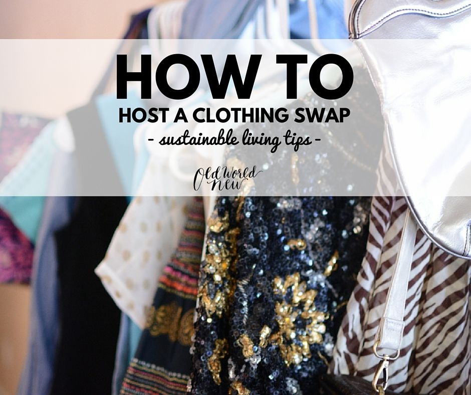 How To Host A Clothing Swap With Your Friends - Sustainable