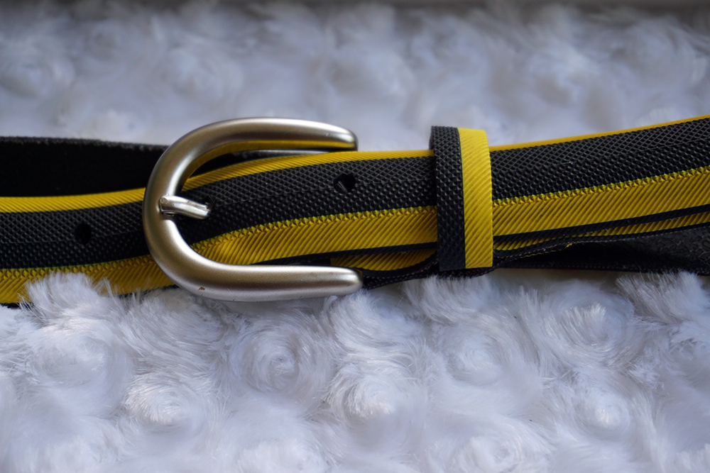 Laura Zabo - recycle tire dog collar and leash upcycle addie old world new