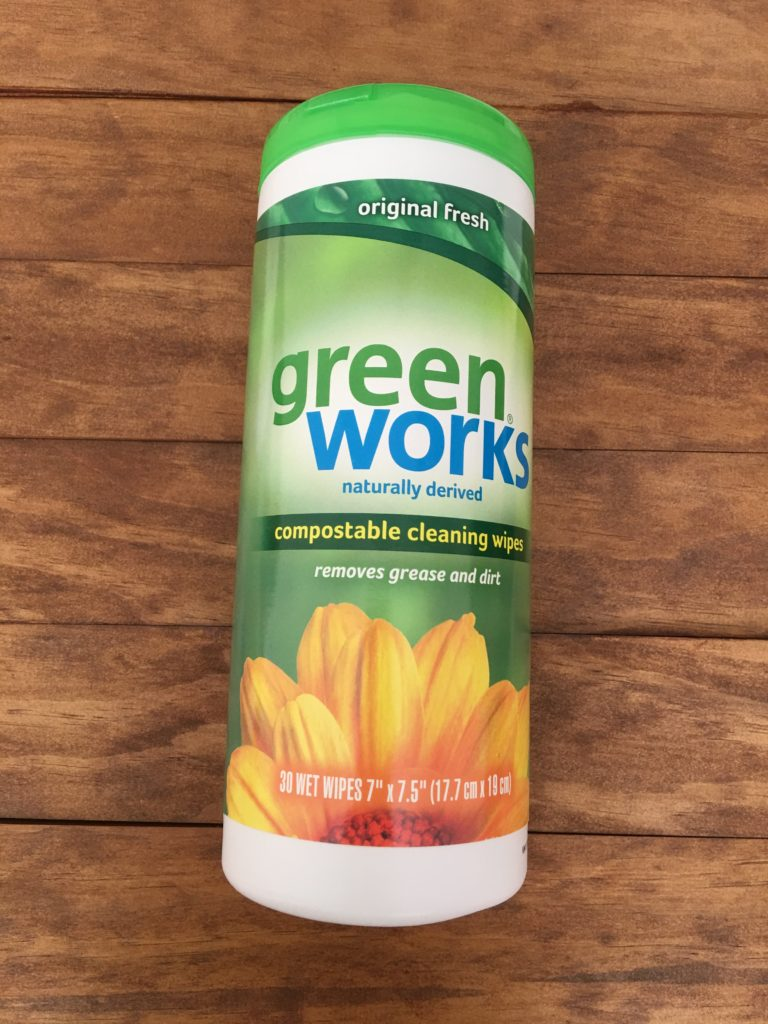 eco-friendly products at Target green works disinfecting wipes