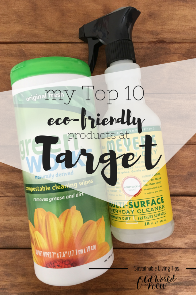 eco-friendly products at target