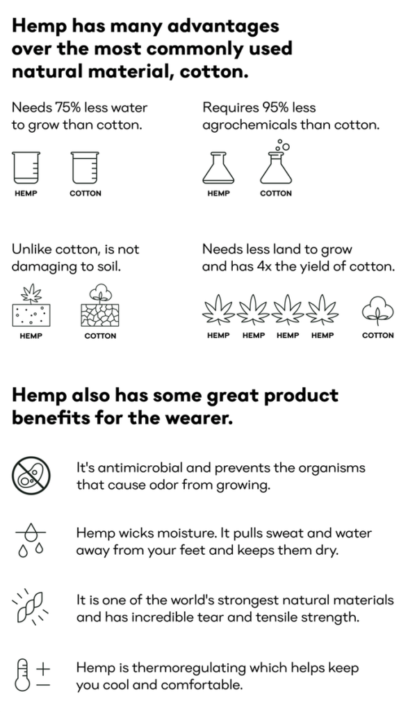 Hemp benefits hemp fashion