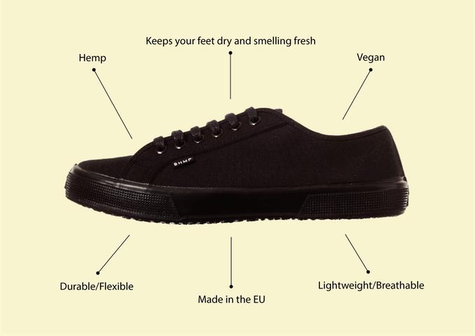 Bohempia_Shoe description hemp shoe
