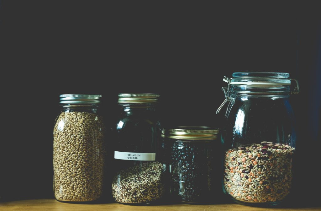 Zero Waste glass jars