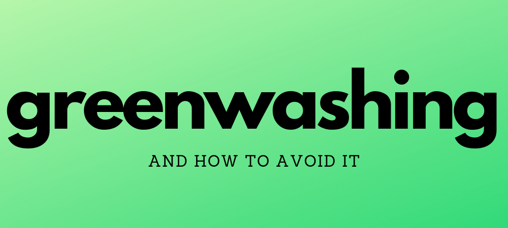 greenwashing - featured image