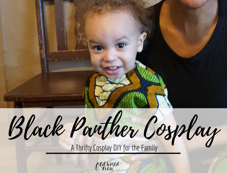 Black Panther Cosplay DIY
