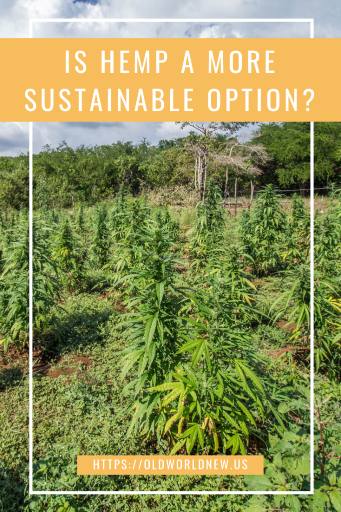 is hemp a sustainable option?