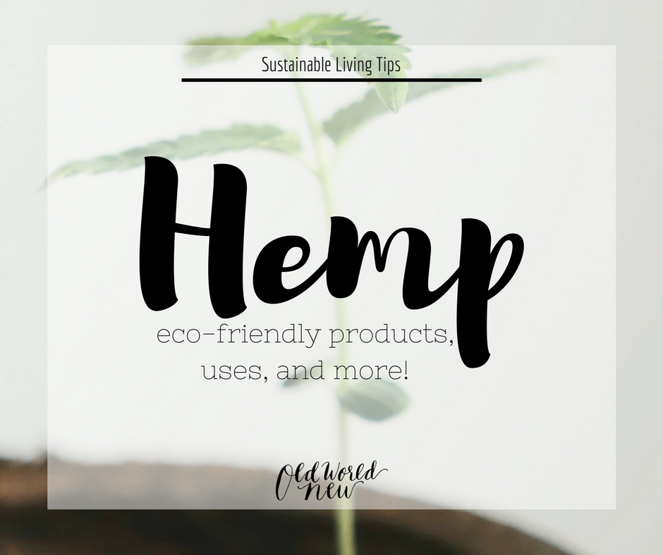 hemp eco-friendly products