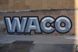 Graffiti Downtown Waco, TX - Addie, Old World New