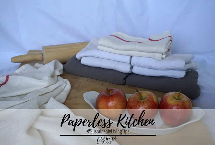 Paperless Kitchen via Old World New