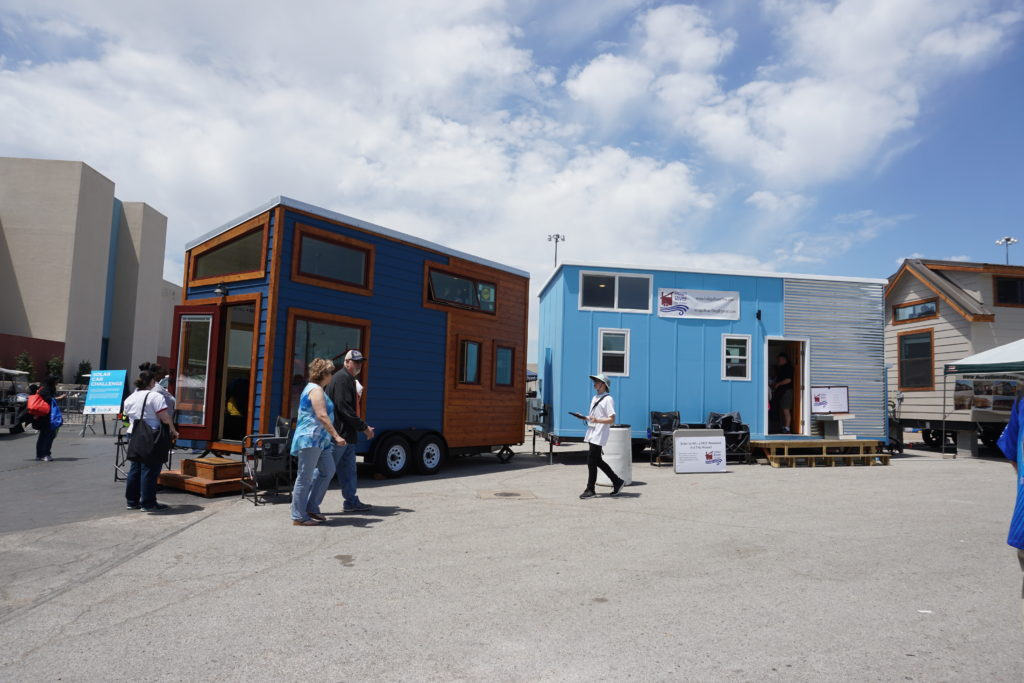 tiny house village at earthX in dallas, tx - via old world new